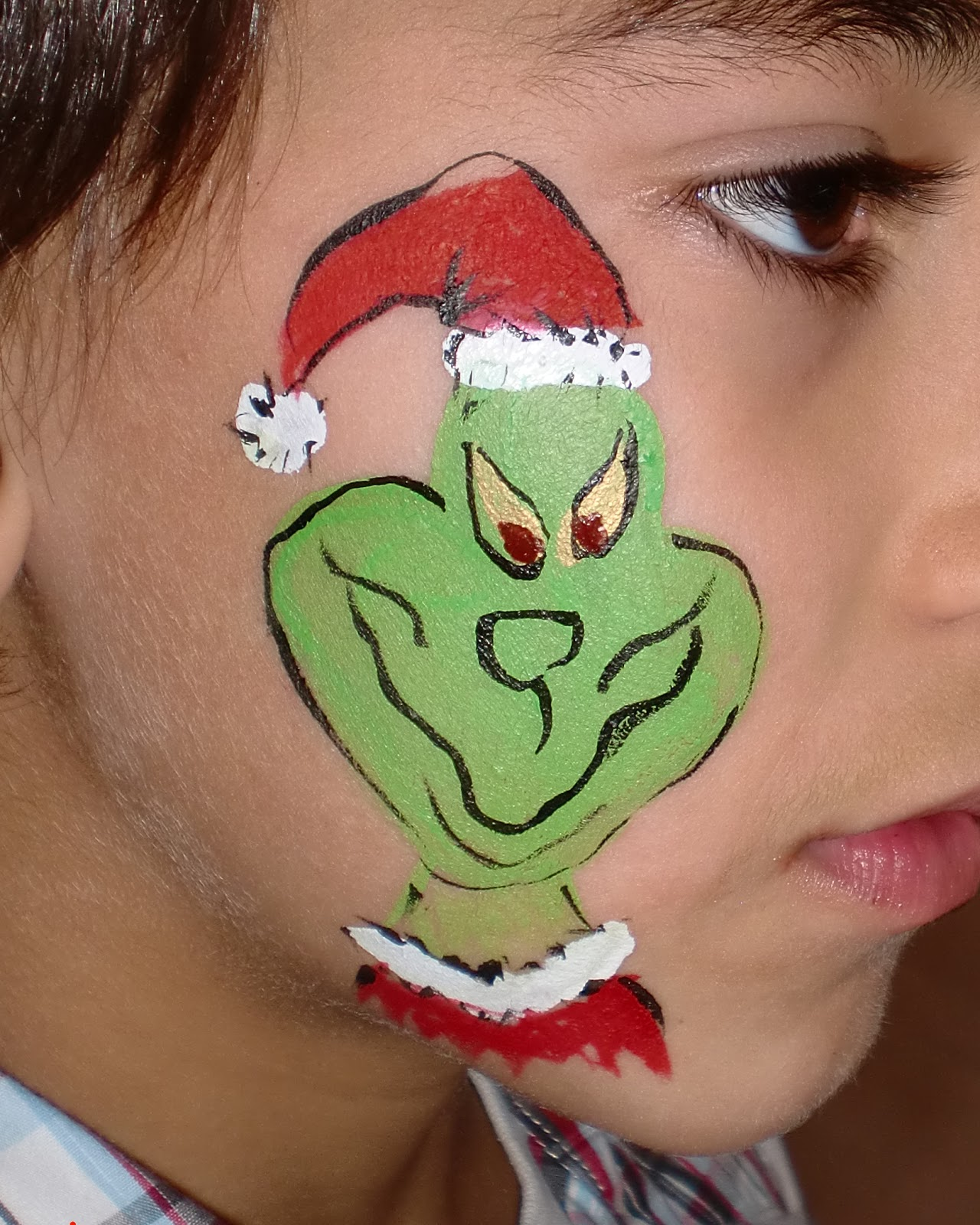 Face Painting Illusions And Balloon Art LLC Breakfast With Santa Pictures Utah Paint Christmas Star Snowflakes Cross