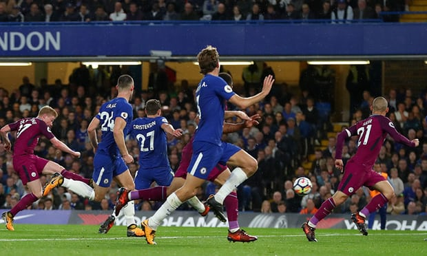 Chelsea sunk by Kevin De Bruyne winner for Manchester City