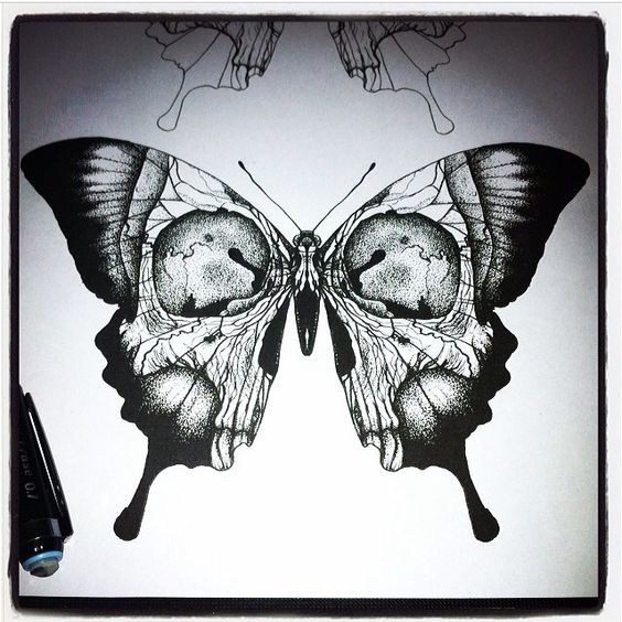 Butterfly Tattoos That Will Flutter By On You!