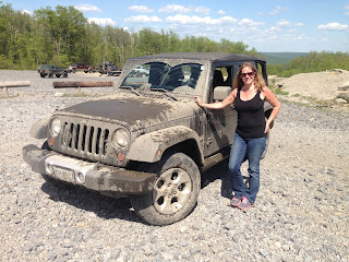 Jeep Girl Gets dirty