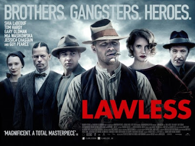 The Lawless film is meedogenloos vermakelijk!