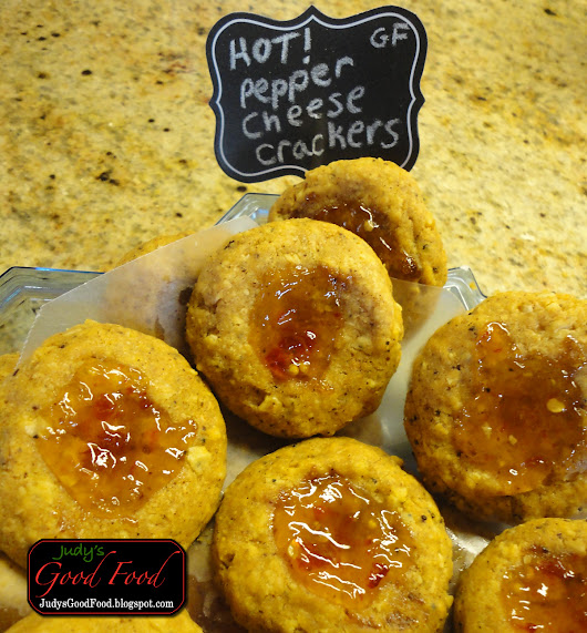 Judy's Good Food Blog: Spicy Cheese Bites