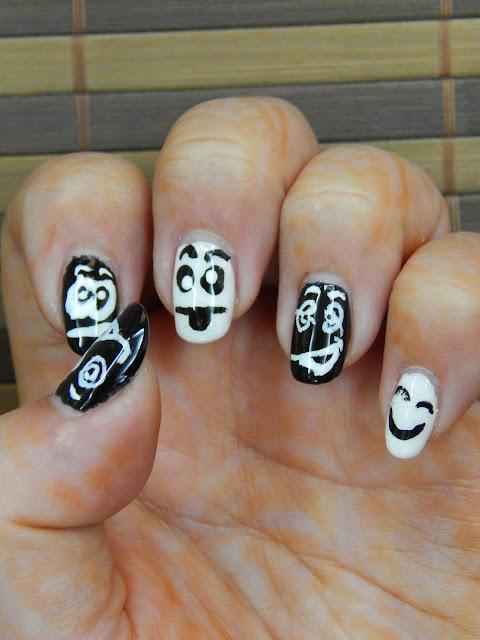 Funny nail art!