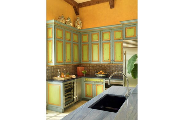 Colorful Kitchen Anyone