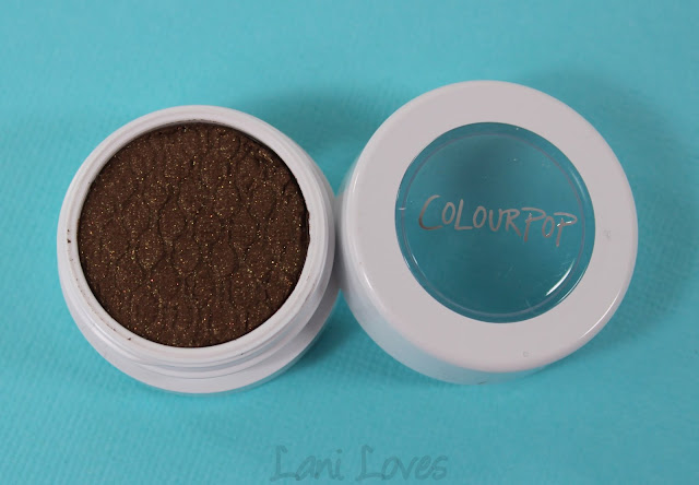ColourPop Super Shock Shadow - Moonshine Swatches & Review