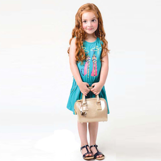 Imoga Sam Emerald Dress | Girl's Boutique Clothing | Chichi Mary