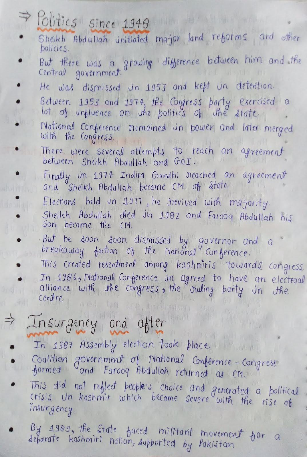 Class 11 political science notes chapter 1