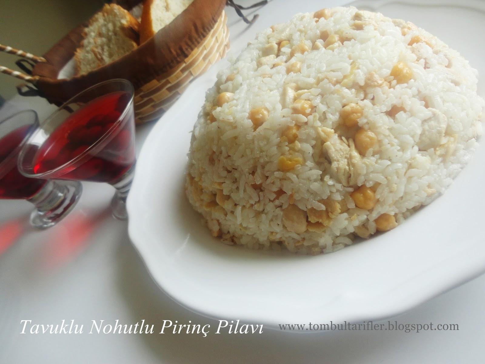 Nohutlu Pilav Tarifi Videosu