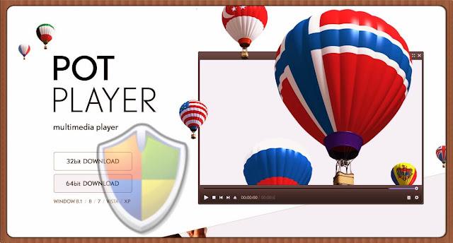 تحميل PotPlayer الذي تم إختياره أفضل مشغل ميديا