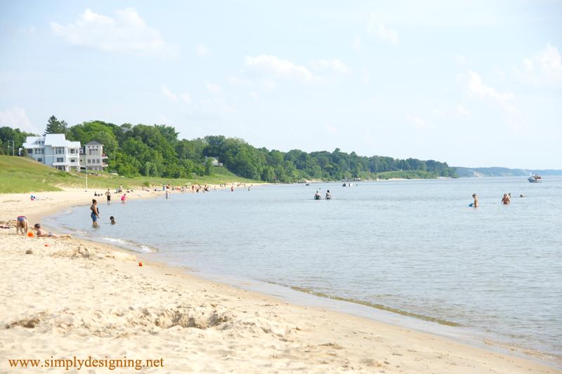 Lake Michigan South Haven Beach