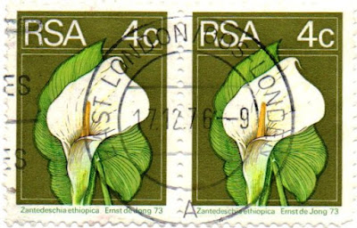 Sunday Stamps II A-Z 'Z' Romania, South Africa