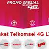 Cara Beli Kuota Telkomsel 4G LTE