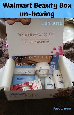 walmart beauty box unboxing