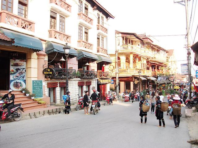 Một góc thị trấn Sapa