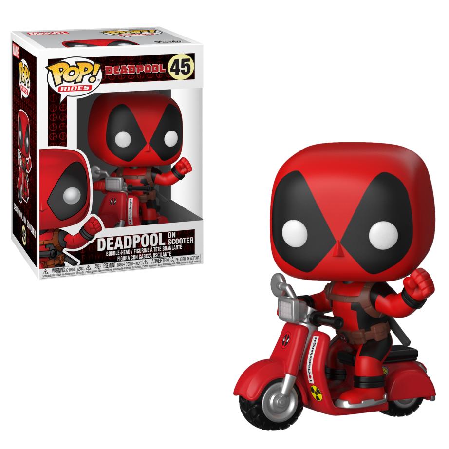 The Blot Says Deadpool 2 Movie Pop Vinyl Figures By Funko X Marvel Bott Emperors Kronk