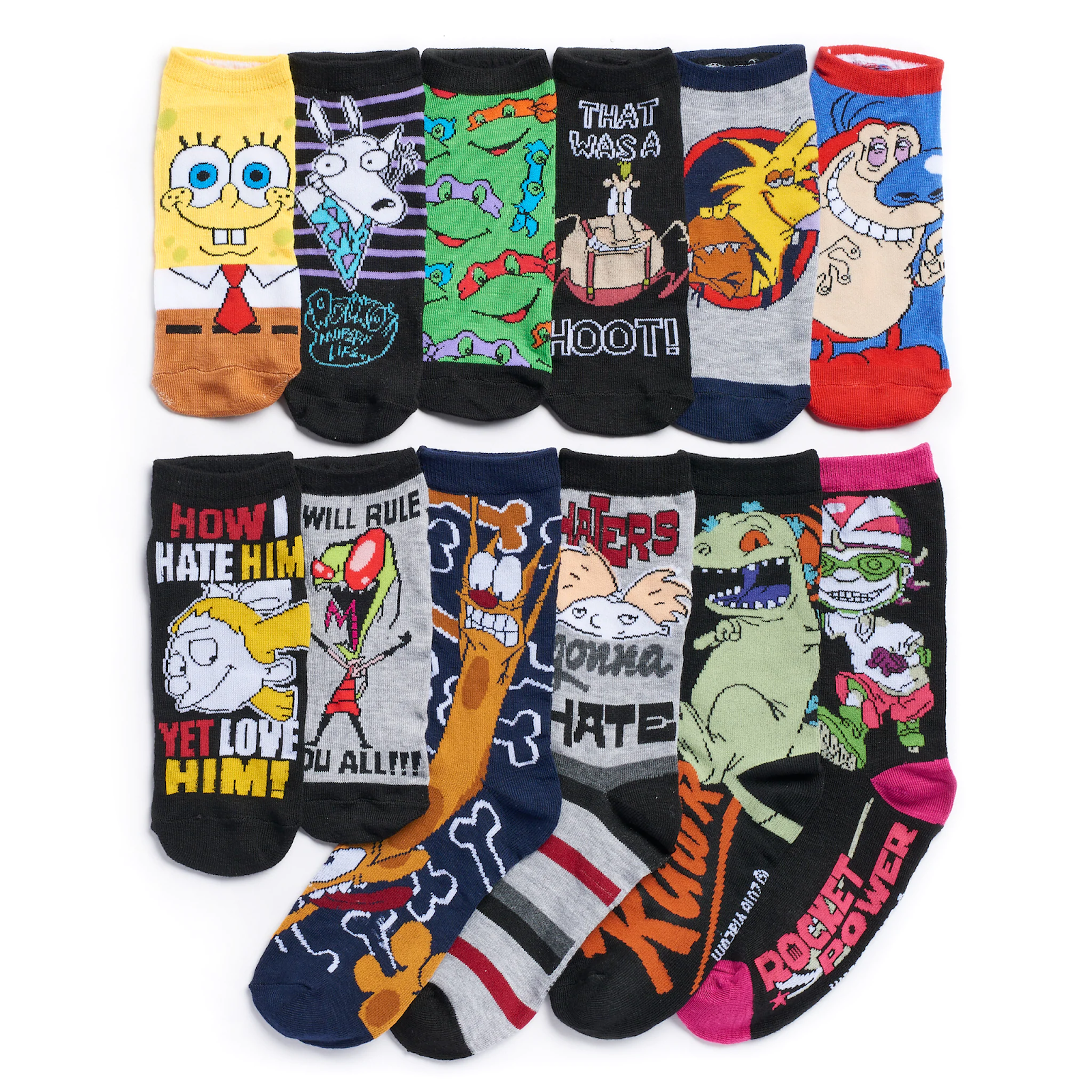 1d49f4b326c Want to keep your toes extra cosy whilst showing off your '90s Nickelodeon  credentials this winter? You're in luck! Kohl's are also selling Mens' ...