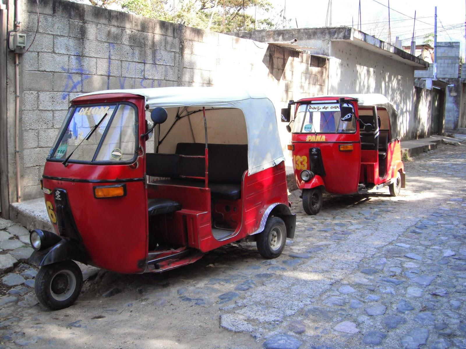 chasing marbles tuk tuks in panajachel guatemala. Black Bedroom Furniture Sets. Home Design Ideas