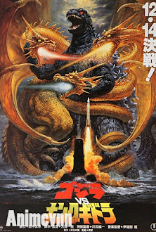 Godzilla vs. King Ghidorah - Gojira tai Kingu Gidora 1991 Poster