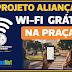ITAJUIPE: ALIANÇA DOS ARTISTAS  LIBERA SINAL DE INTERNET GRÁTIS NAS PRAÇAS.