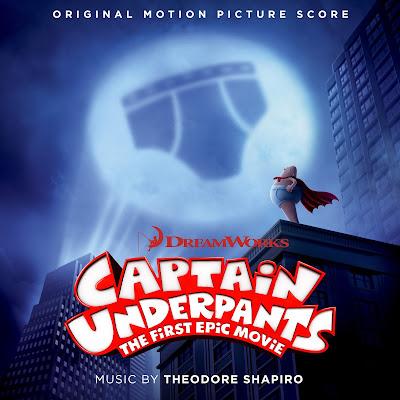 Captain Underpants Original Score Theodore Shapiro