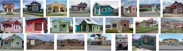 Casas en residenciales de Choluteca (Honduras)