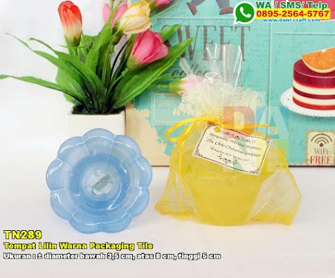Tempat Lilin Warna Packaging Tile