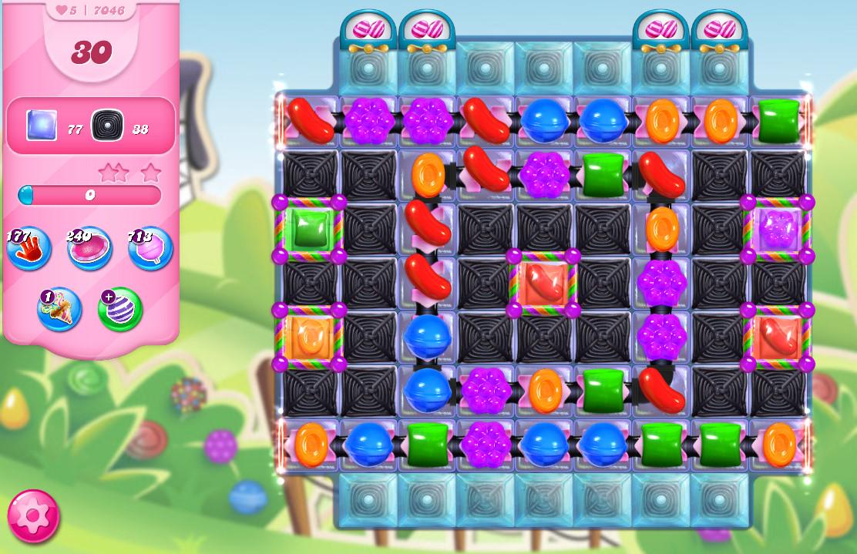 Candy Crush Saga level 7046