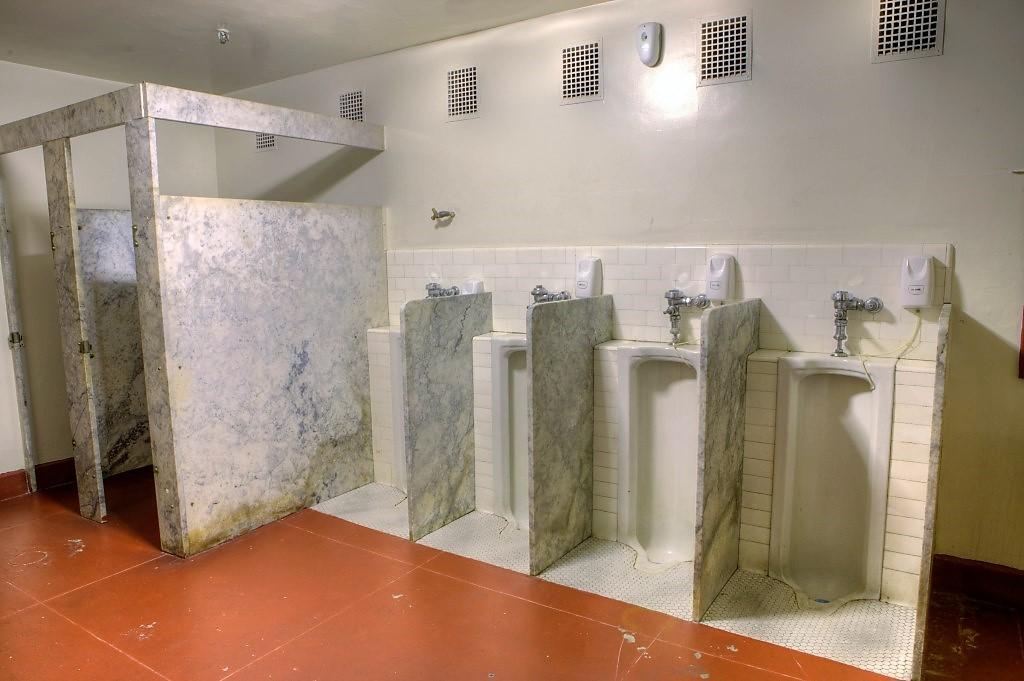 Los angeles theatres shrine auditorium backstage - Commercial bathroom stall hardware ...