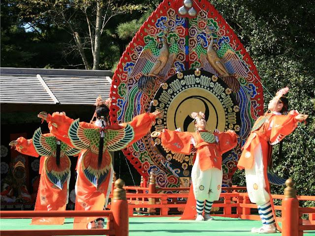 Jingu Aki-no-Kagura-sai, Ise-jingu Shrine - Naiku, Sansuden Hall, Ise, Mie