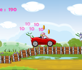 Princess Car Racing