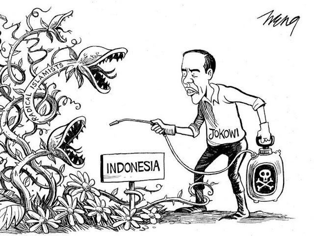 Koran New York: Jokowi Bersih-bersih Islam Radikal di Indonesia