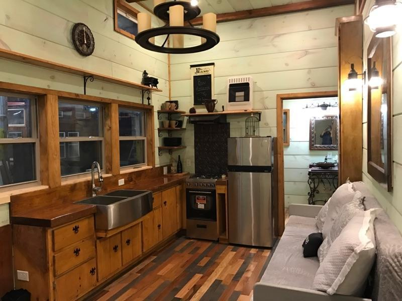 TINY HOUSE TOWN 32 Modern Rustic Tiny Home