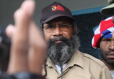 Ke Jakarta, Filep Karma Desak Jokowi Gelar Referendum di Papua
