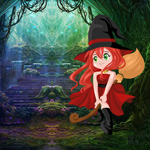 Games4King Cute Witch Res…