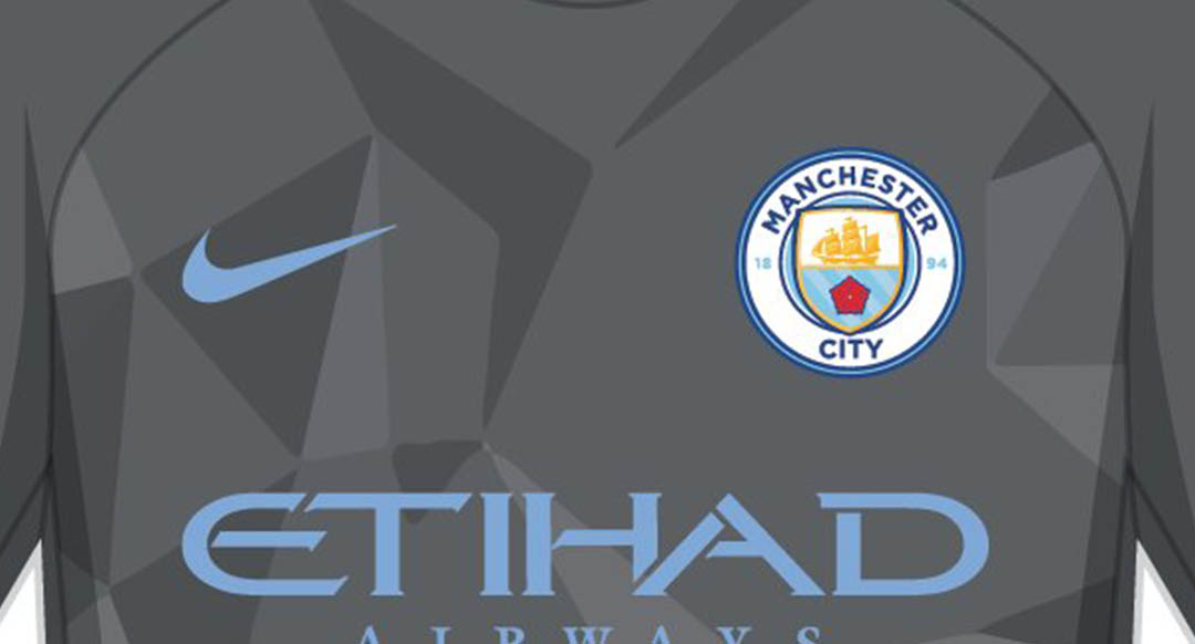 The new Manchester City 2017-18 third jersey is set to introduce a stunning  design in dark grey and sky blue 2a7a0f663