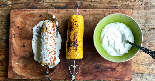 Elotes: Mexican sweet corn recipe