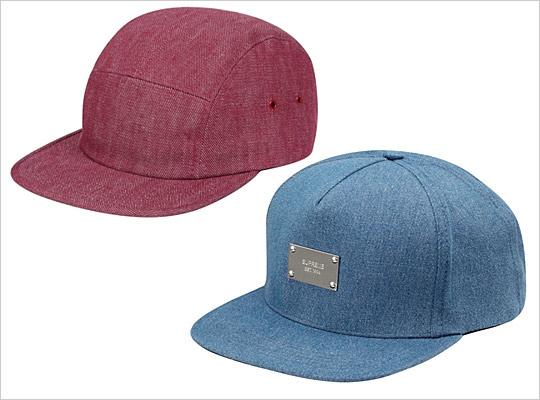 Supreme Denim Hats  Summer 2011 0c098a8b2df