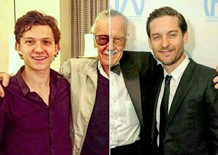 Stan Lee y Spiderman