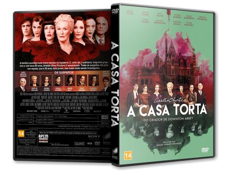 Capa DVD A Casa Torta