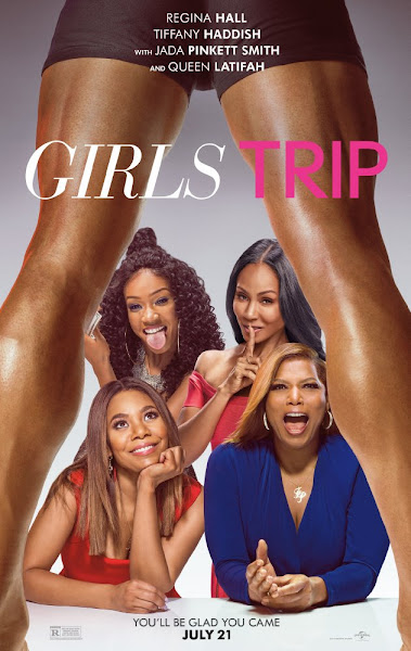 Poster of Girls Trip 2017 English 480p HDCAM 700mb Full Movie Download