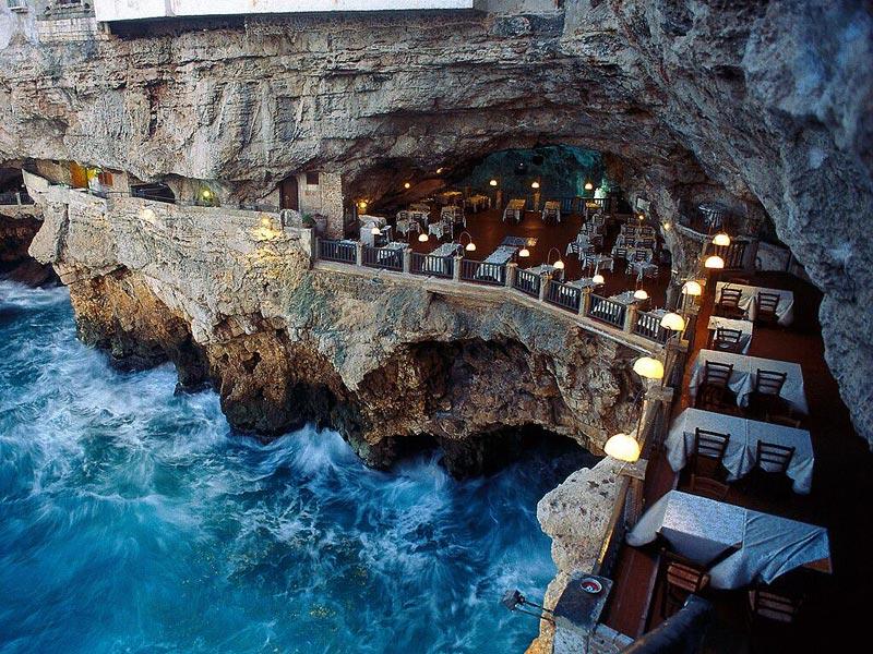 RISTORANTE GROTTA PALAZZESE: Un Lugar Mágico y Romántico en Italia 1