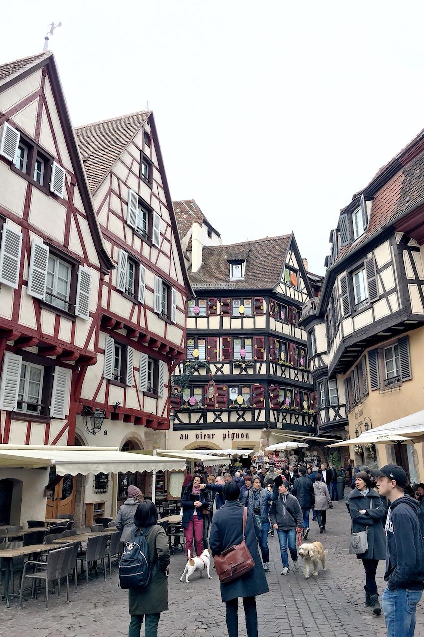 Altstadtgassen in Colmar