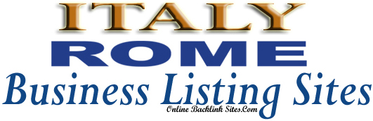 Italy-Rome Business Listing Sites List