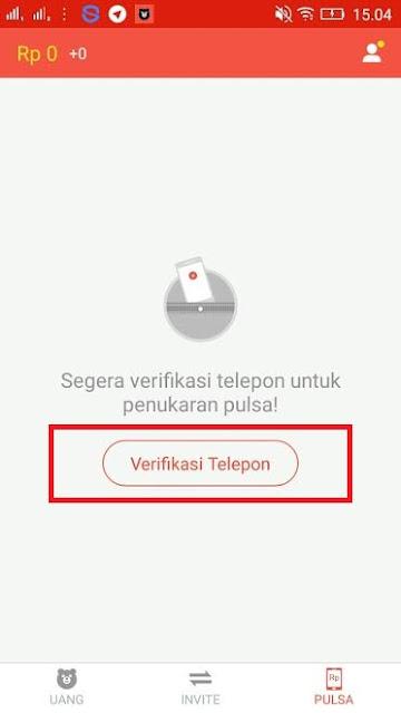 cara Verifikasi Nomor Handphone Cashsaku