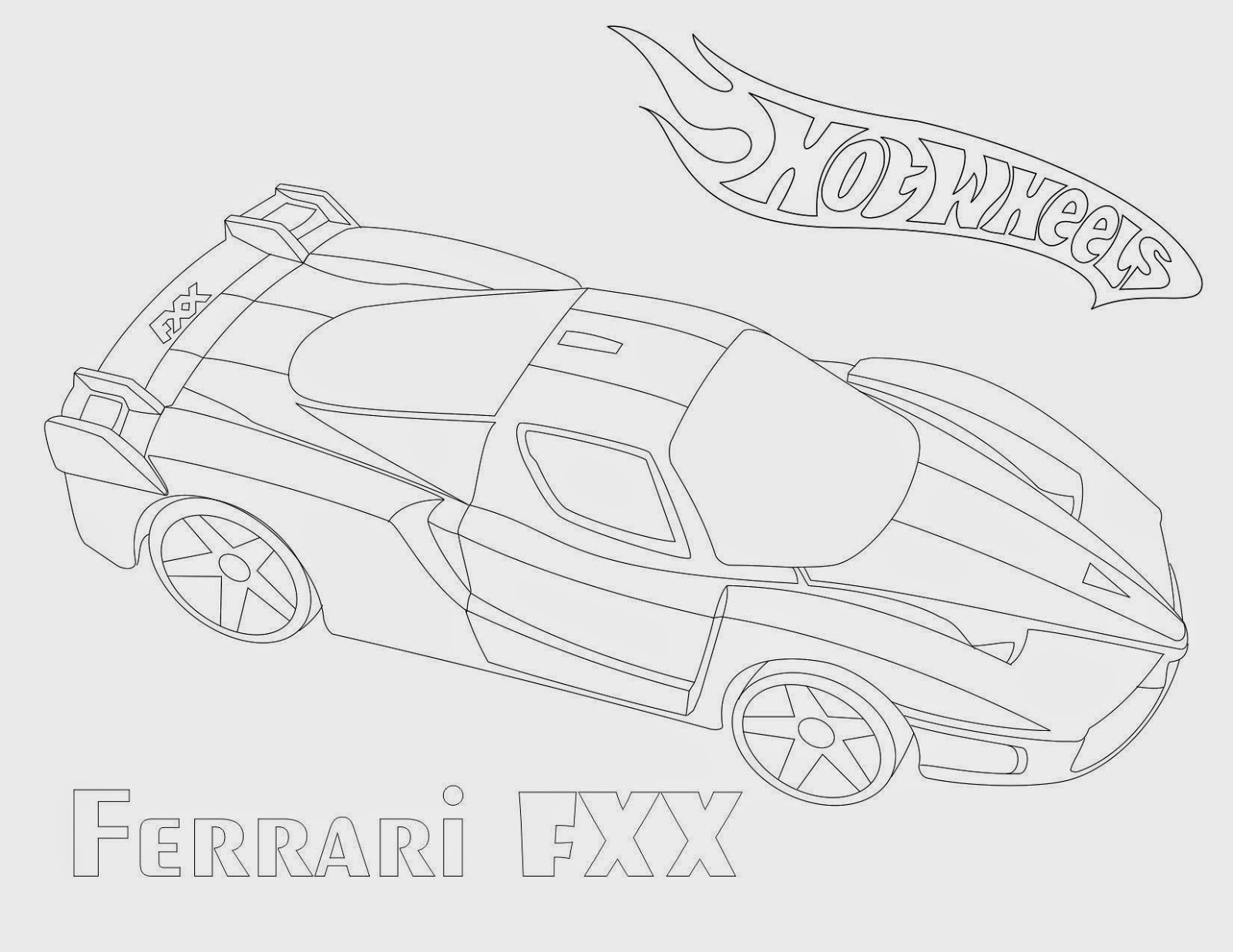 Hot Wheels Coloring Pages 48
