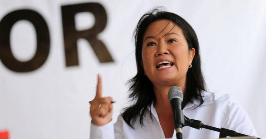 KEIKO FUJIMORI: El 9 de agosto se conocerá sentencia de casación presentada por la defensa de la lideresa de Fuerza Popular