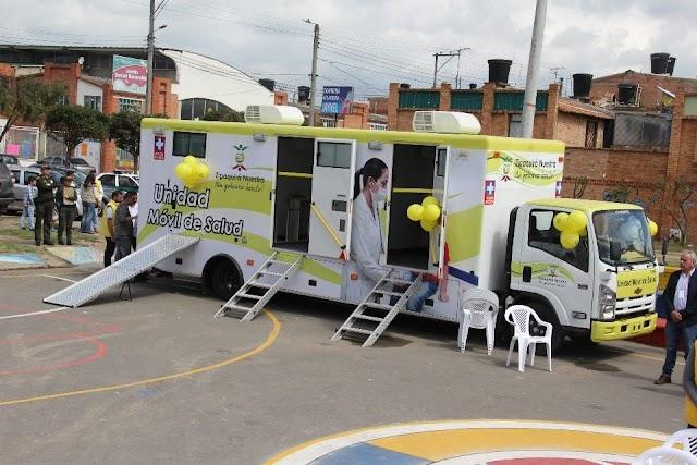 Comunidad tiene a disposición desde ya, Unidad Móvil de Salud en Zipaquirá
