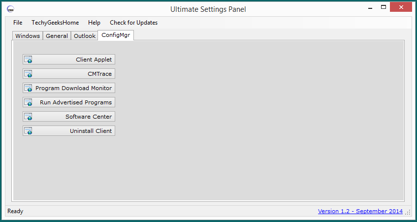Ultimate Settings Panel - Version 1.2 Released 3