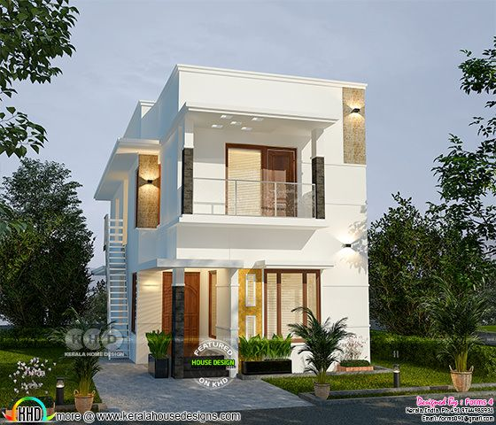 1500 square feet 4 bedroom ₹25 lakhs cost home