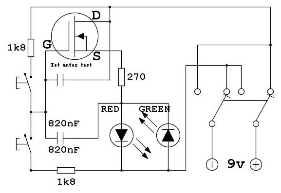 Electronic circuit component tester and power supply